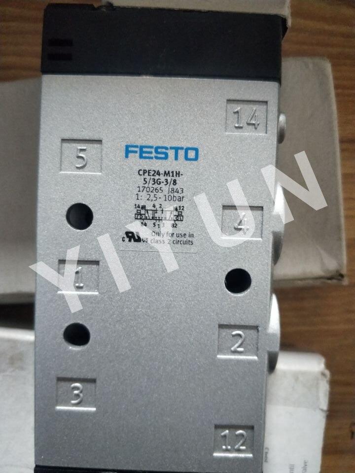 цена CPE24-M1H-5LS-3/8 163170 CPE24-M1H-5/3G-3/8 170265 CPE24-M3H-5L-3/8 163834 CPE24-M3H-5LS-3/8 FESTO Solenoid valve