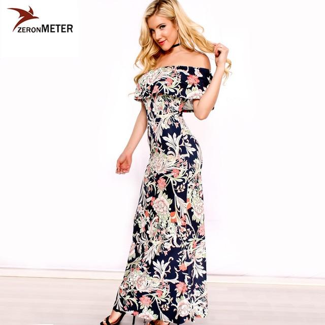 sexy langes Kleid