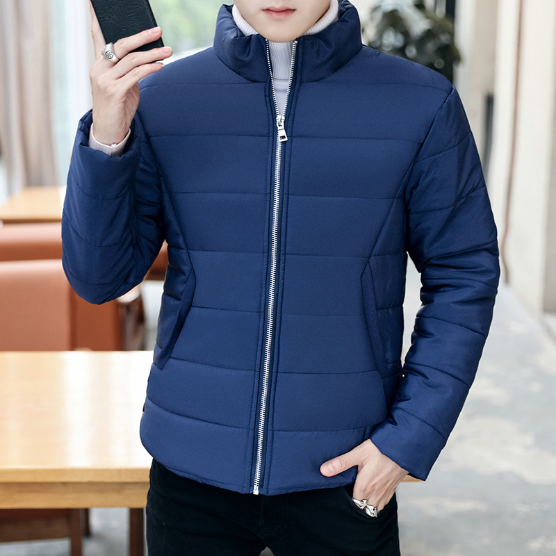 Cotton Men Short Winter Men's Loose Loose Korean Version Of The Collar Thickening Cotton Tastes Winter Warm Cotton Jacket 2017 winter version of the new south korean edition of cotton dress short dress and a large size cotton padded jacket
