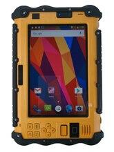 Купить с кэшбэком China P12 Rugged Industrial Waterproof Shockproof Android Tablet PC UHF PTT Walkie talkie Radio 7 Inch 3GB RAM Dual Sim GPS 4G