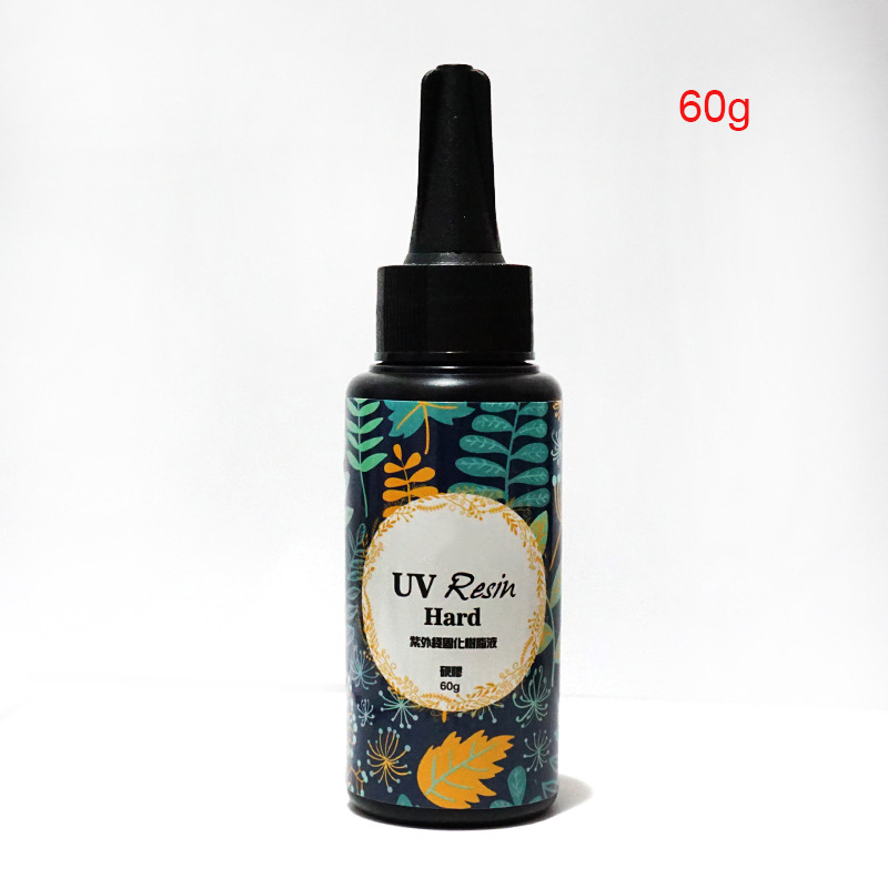 Newly UV Ultraviolet Resin Gel Curing Quick drying Non toxic Transparent Sunlight Activated Hard