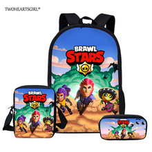 Twoheartsgirl Brawl Stars Backpacks For Boys Girls School Ba