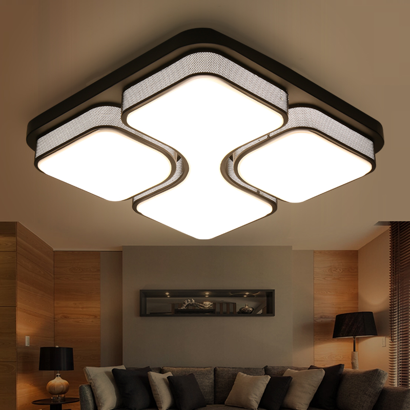 simple art modern led ceiling lights bedroom living room plafoniere moderne lamp deckenleuchten. Black Bedroom Furniture Sets. Home Design Ideas
