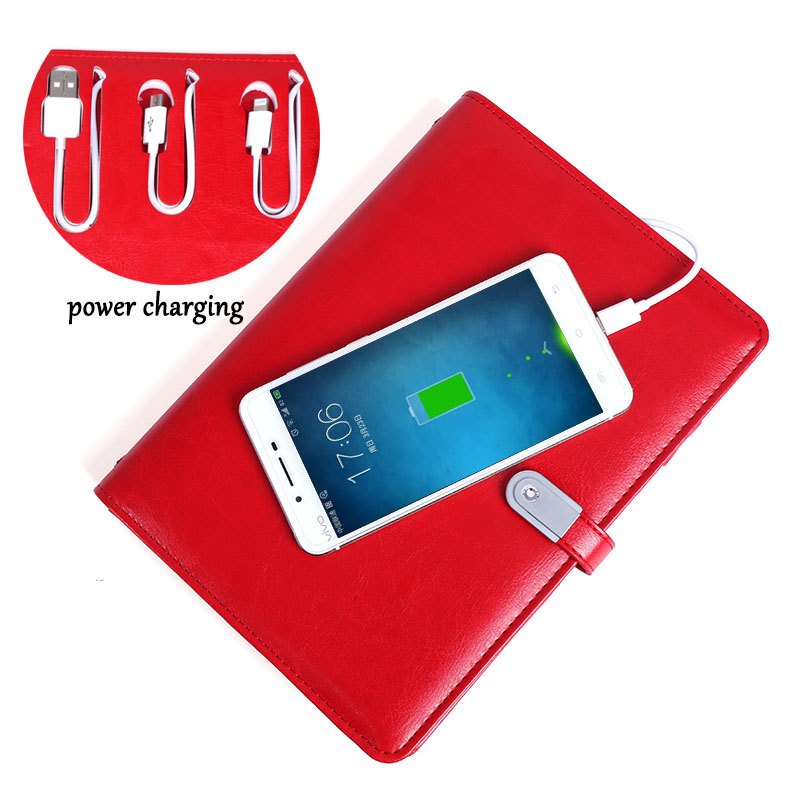 Red Diary Charging Filofax Personal A5 Organizer Loose