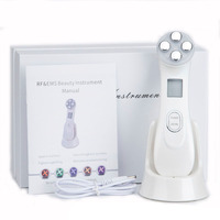 RF&EMS Mesotherapy Electroporation Face Beauty Pen Facial LED Photon for Skin Care equipment Face Lift Tighten Beauty Machine