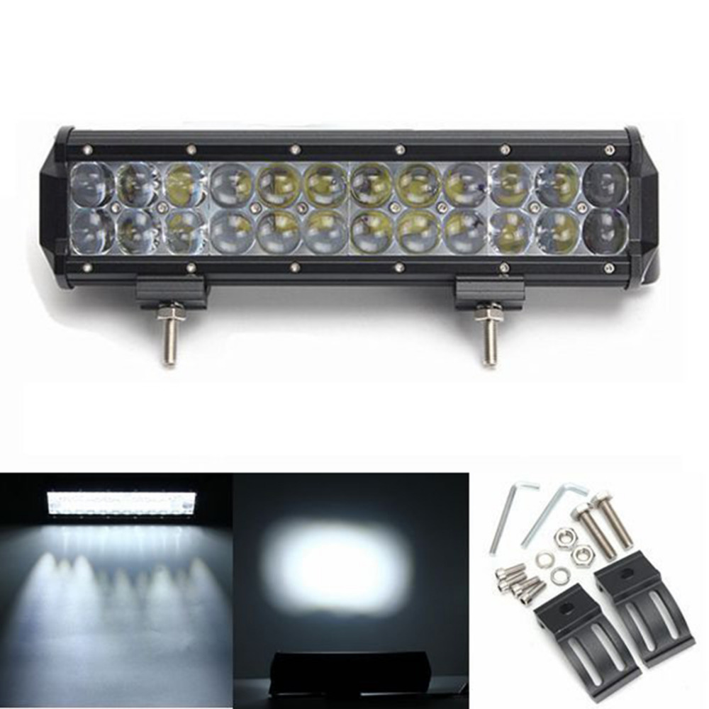 1 Pcs 4D LED Bar 120W 12 Spotlight/Floodlight Bar Offroad ATV Truck 4x4 UTV 4WD Truck RZ ...