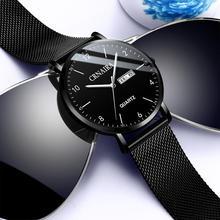 Simplicity Modern Quartz Watch Women Mesh Stainless Steel Bracelet High Quality Casual Wrist for Woman Montre Femme