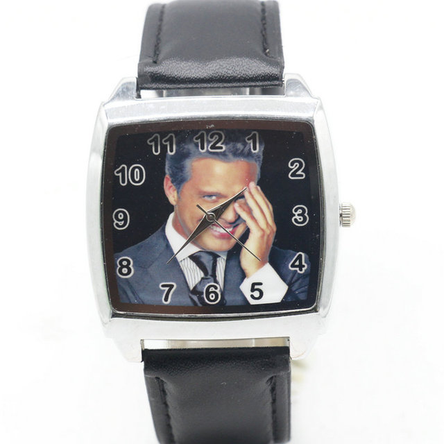 Cartoon Children Luis Miguel Watch Fashion Lovely Cute Kids Watches for Student