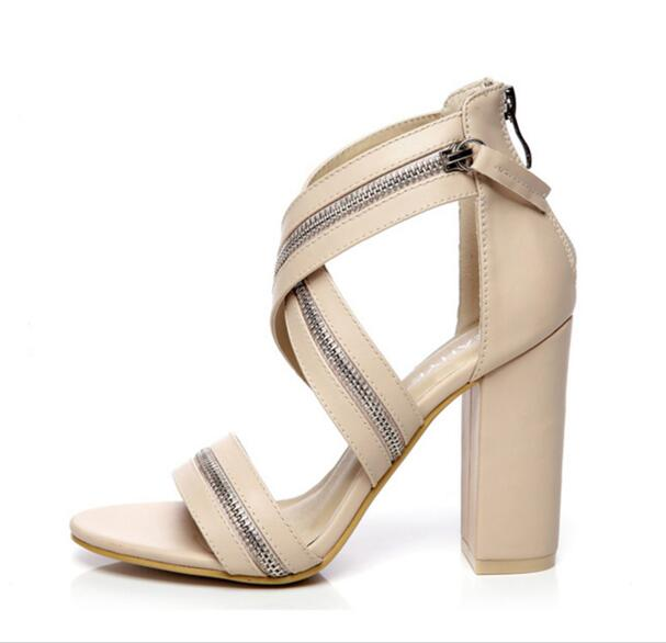 ФОТО Superstar love most woman shoes  thick heel high heels fashioned in the concise design  two color for your selection buckle type