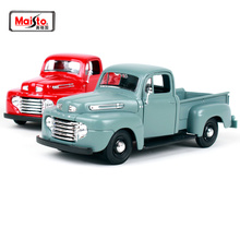 Maisto 1:25 Ford 1948 FORD F-1 PICKUP Vintage cars Diecast Model Car Toy New In Box Free Shipping NEW ARRIVAL 31935