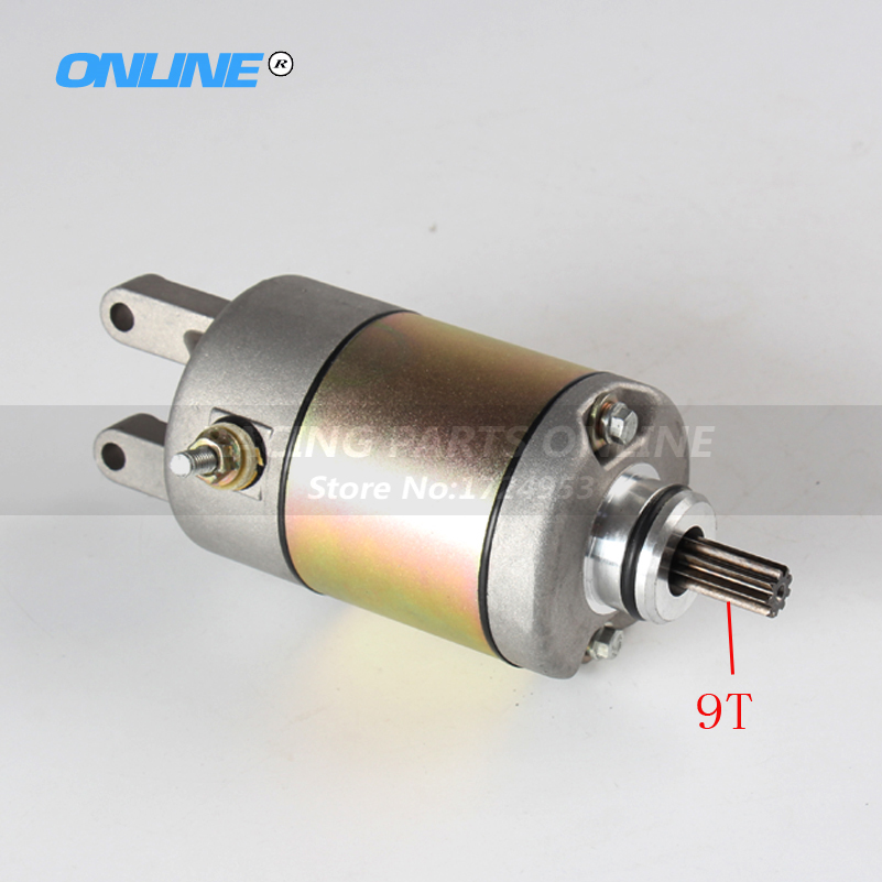 High Quality Starter Motor Starting motor for YP250 250cc 300cc Linhai Feishen Engine Moped scooter ATV roller magneto coil cover yp250 linhai atv engine 250cc 300cc majesty accessories free shipping