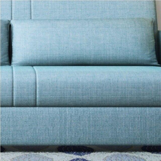 linen hemp fabric sectional sofas  Living Room Sofa set furniture alon couch puff asiento muebles de sala canape sofa bed cama 5