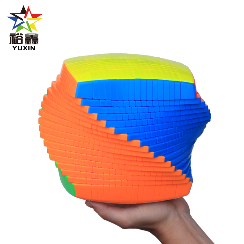 YUXIN Huanglong Professtional 17x17x17 Magic Cube Speed Puzzle 17x17 Cube 17 Layers Educational Toys Gifts 176mm