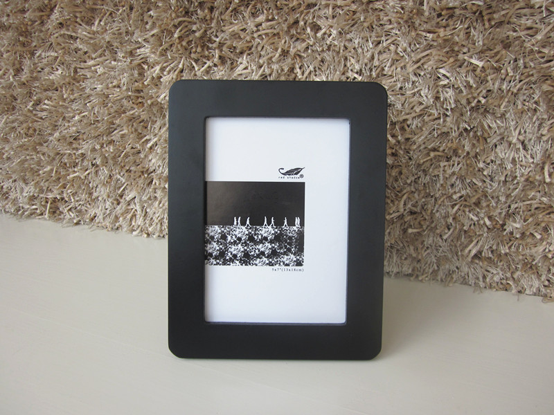black fashion mdf picture frame for promotion gifts hot sales 4x6