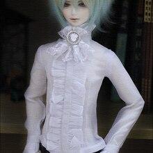 1/4 1/3 масштаб BJD кружевная рубашка с длинным рукавом для BJD/SD одежды куклы аксессуары, не включены куклы, обувь, парик и другие 18D1242