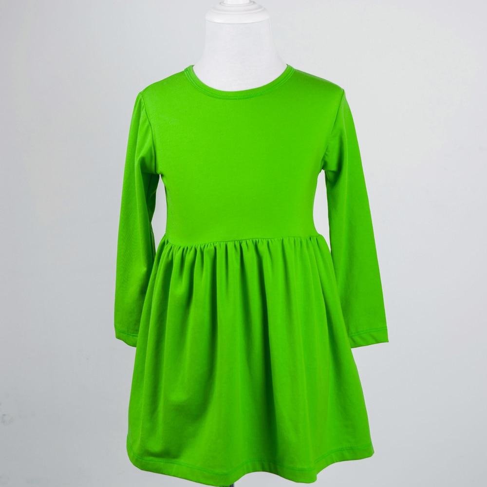 Retail Fall Clothing Lap Dress Designs Baby Girls Child Kids New Model Frocks Winter Tunics -4899