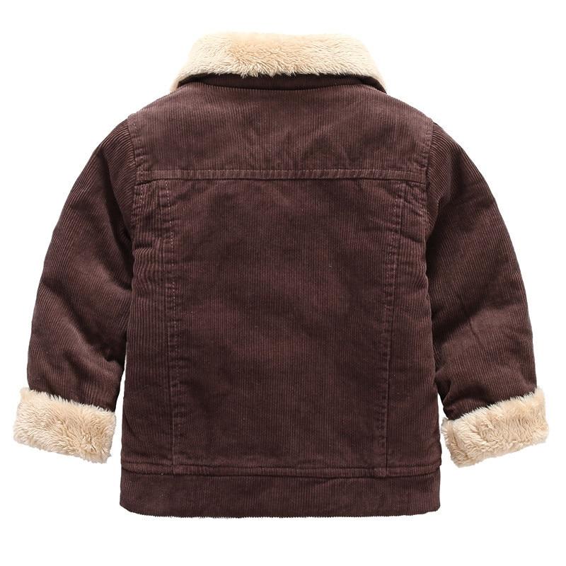 6caa28093 Scsech Children s Winter Jackets 2018 New Boys Warm Outwear Coat ...