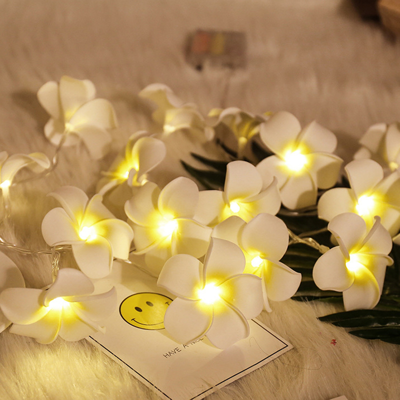 10 Led 20 Leds Romantic Rose Flower String Light For Holiday Wedding Xmas New Year Home Dedroom Table Decor AA Battery Garland (8)