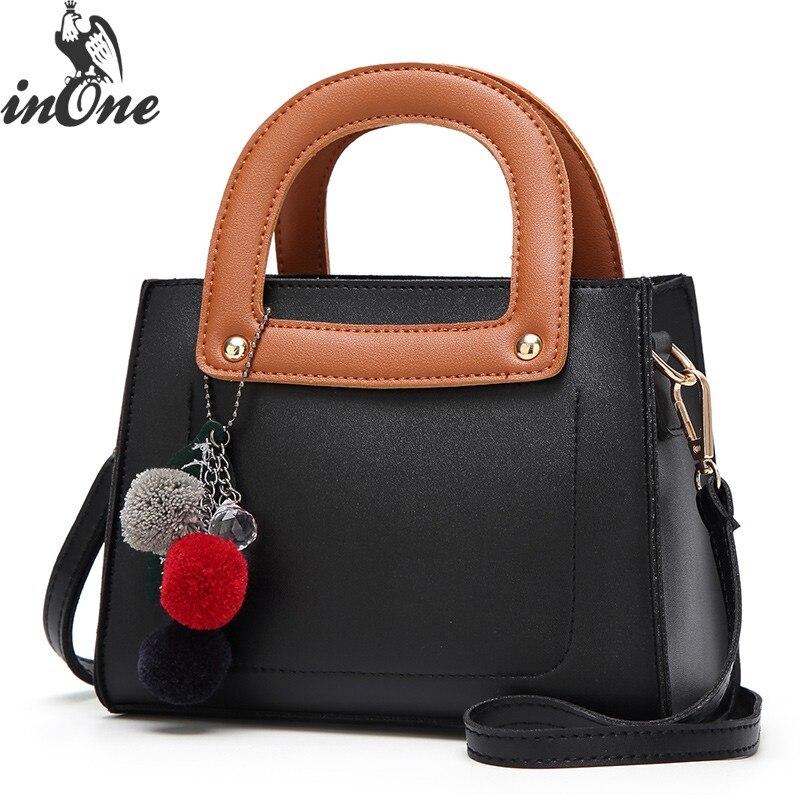 InOne 2018 femmes Mini mignon fourre-tout sacs à main de luxe sacs Designer bandoulière dames sacs à main fille épaule voyage cadeau sac