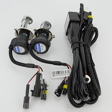 1pair DC 35w bi xenon H4 Bi-xenon H4-3 HID BIXENON REPLACEMENT Bulb Headlight H4 4300K 6000K 8000K Hi/Lo Relay Harness