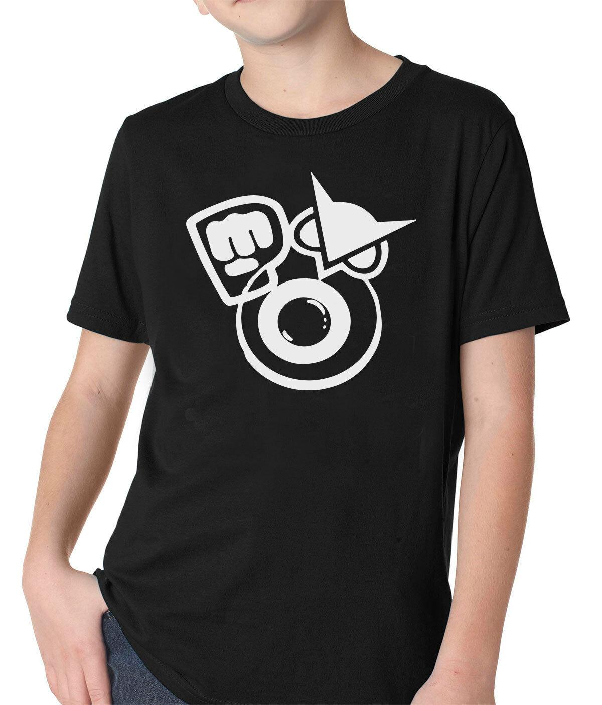 Mens Youth Boys Pewdiepie Merch Tee Shirts T Shirt T-Shirt Short-Sleeve Round Neck Cotton Tshirt for Men Boys