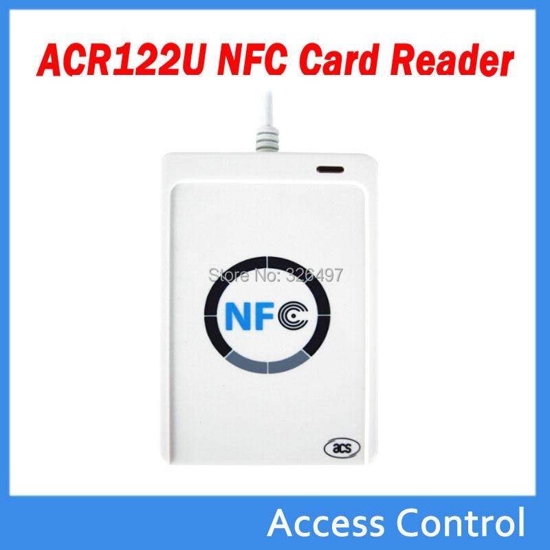 ACR122u NFC Reader Writer 13 56 Mhz RFID Copier Duplicator + 3 stks UID  Card + 3 stks UID Tag + SDK + M-ifare Copy Clone Softwar