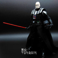 Star Wars 7 Black White Soldiers Hotels Lightsaber Mask Hand Model Can Be Moving Even Toys H7
