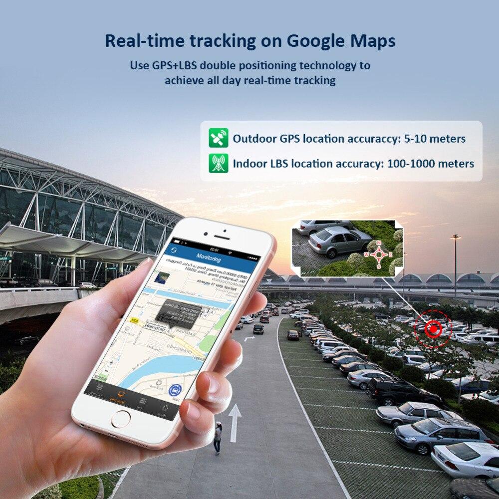 GPS Tracker Voiture TKSTAR TK905 5000 mAh 90 Jours Veille 2G Véhicule Tracker GPS Locator Imperméable À L'eau Aimant Voix Moniteur livraison Web APP - 4
