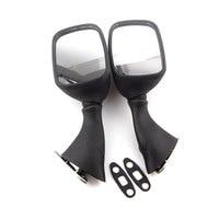 2pcs/pair Black Side Rearview Rear View Mirrors For GSXR1000 GSXR600 GSXR750 GSX1300R Hayabusa 1999 2010