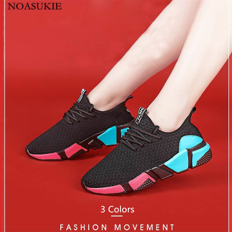 3 Colors Hipsters Shoes Women Basket Summer Fashion Sneakers Mesh Breathable Running Casual Stitching Color Tenis Feminino