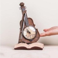 Vintage violin and globe crafts, desktop small ornaments home accessories, creative bedside furnishings