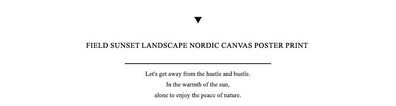 HTB19Z0NRXYqK1RjSZLeq6zXppXaT Grass Field Sunset Canvas Nordic Poster Nature Wall Art Print Landscape Painting Decorative Picture Scandinavian Home Decoration