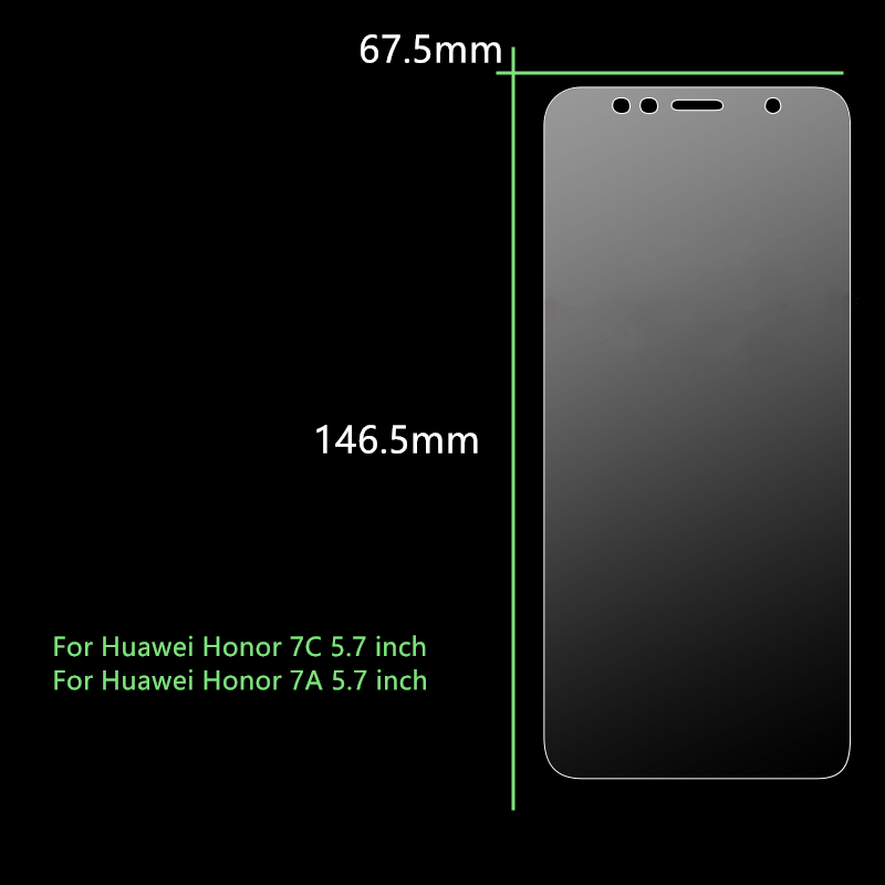 Image 5 - Protective Glass For Huawei Honor 7C Tempered Glass Honor 7C Russian Version AUM L41 Screen Protector For Huawei Honor 7C Glass-in Phone Screen Protectors from Cellphones & Telecommunications