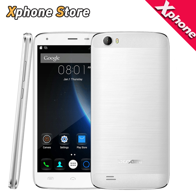 Newest Original DOOGEE T6 PRO RAM 3GB ROM 32GB Smartphone 5.5'' HD Screen 4G LTE Android 6.0 Unlocked Cell phone with OTA OTG