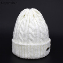 Ditpossible kids thin knitted wool hat boys beanies girls skullies winter hats for children and women