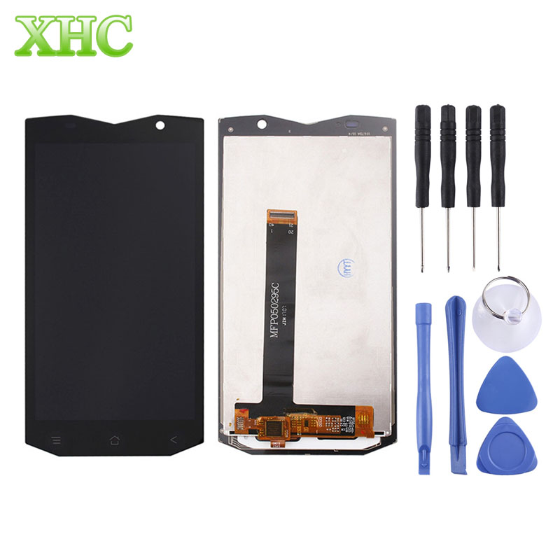 Blackview BV8000 Pro Phone Replacement LCD Display + Touch Screen Digitizer Assembly for Blackview BV8000 Pro Spare Parts