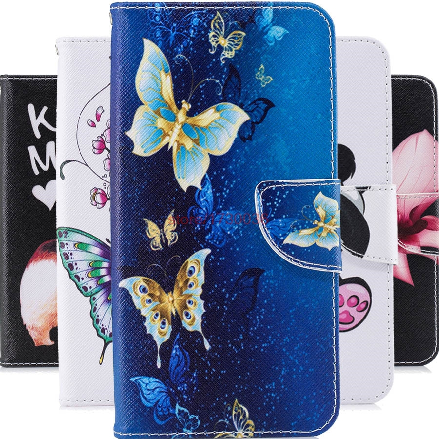Flip Case For Huawei Nova 3i INE-TL00 INE-LX2 P Smart+ Wallet Case Phone Cover For Huawei P Smart Plus INE-LX1 INE-L21 Bag Cover