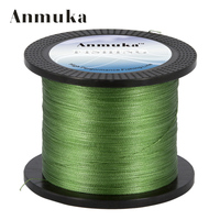 Anmuka New 4 Stands 1000M 10 80LB Brand Fishing Lines Super Strong Japanese Multifilament 100 PE