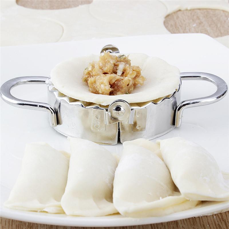HTB19Z0xMFXXXXbQXpXXq6xXFXXXL - 2pcs/set Pastry Tools Stainless Steel Dumpling Maker Wraper Dough Cutter Pie Ravioli Dumpling Mould Kitchen Accessories