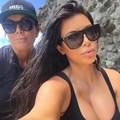 PAWXFB Retro Brand Designer Square Sunglasses Women Celebrity Kim Kardashian Sun glasses Mirror Eyeglasses Lentes de sol Shades