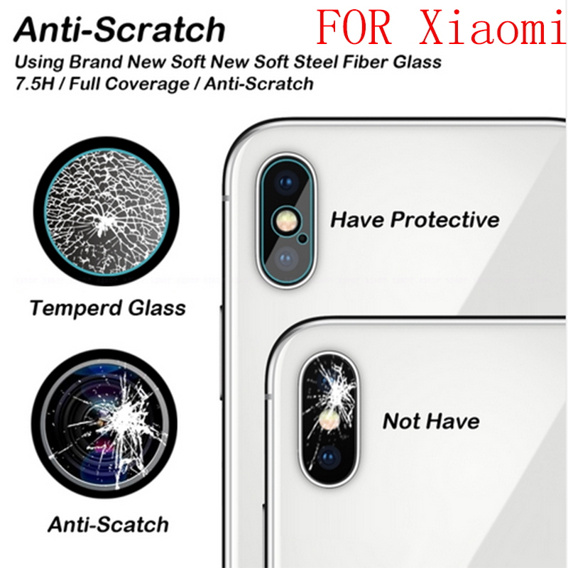 For Xiaomi Redmi Note 5 Pro Back Camera Lens Tempered Glass for Xiaomi Mi 8 Se for Xiaomi 6X 5X 5S Plus Mix 2S Protector Film