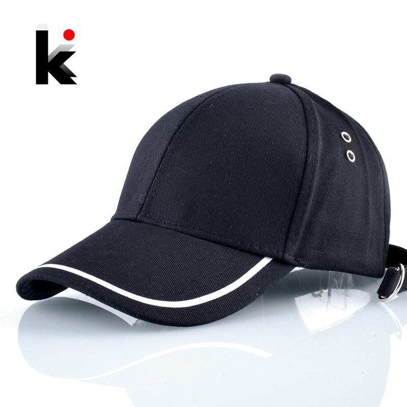 Dad Hats Bone Baseball-Cap Men Snapback Cotton Casual Women Adjustable Solid for Hip-Hop