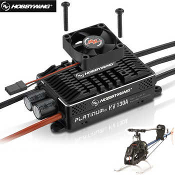Original Hobbywing Platinum HV 130A V4 BEC /HV 130A OPTO 5-14S Lipo Empty mold Brushless ESC for RC Drone Helicopter Aircraft - DISCOUNT ITEM  0% OFF All Category