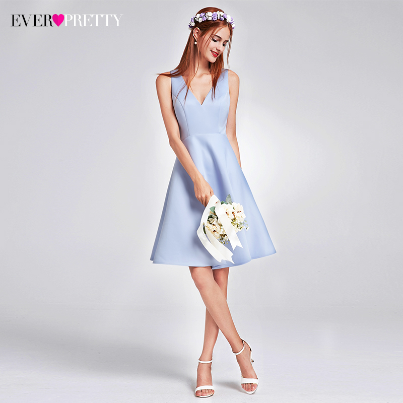 2017 Ever Pretty Fashion Women elegante dama de honor vestidos con - Vestidos de fiesta de boda