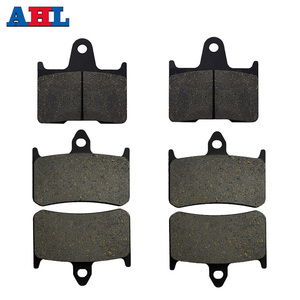 Motorcycle Parts Front & Rear Brake Pads Kit For HONDA CB1300 CB1300 X4 DC DCV DCW DCX DCY 1997 1998 1999 2000(China)