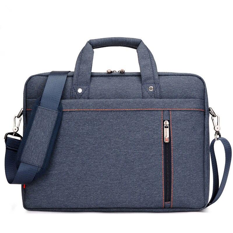 Image 5 - Waterproof Computer Laptop Bags Notebook Tablet Case Messenger Shoulder Bag for Men/Women 13 14 15 17 Inches