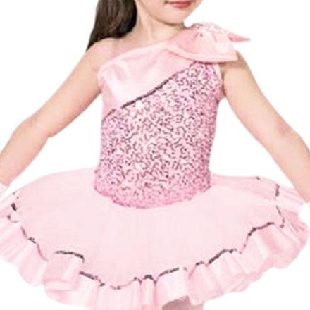 Professionella balettdräkter Dans Rödblå klänning för flickor Kvinnor Dans Barn Gymnastik Leotard Justaucorps Dancewear