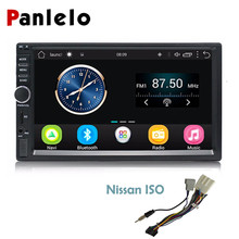 Panlelo Auto Radio 2 Din 7 Inch Android Car Stereo Audio Bluetooth Wifi FM Radio Video Player GPS Navigation for Nissan Dvr/Dab smartech vehicle gps 8 core 2 din android 8 1 car radio gps navigation autoradio system support av out car wifi dab obd dvr tpms