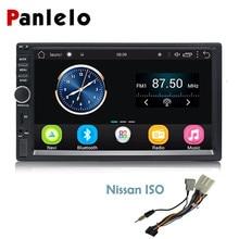 Panlelo Auto Radio 2 Din 7 Inch Android Car Stereo Audio Bluetooth Wifi FM Radio Video Player GPS Navigation for Nissan Dvr/Dab