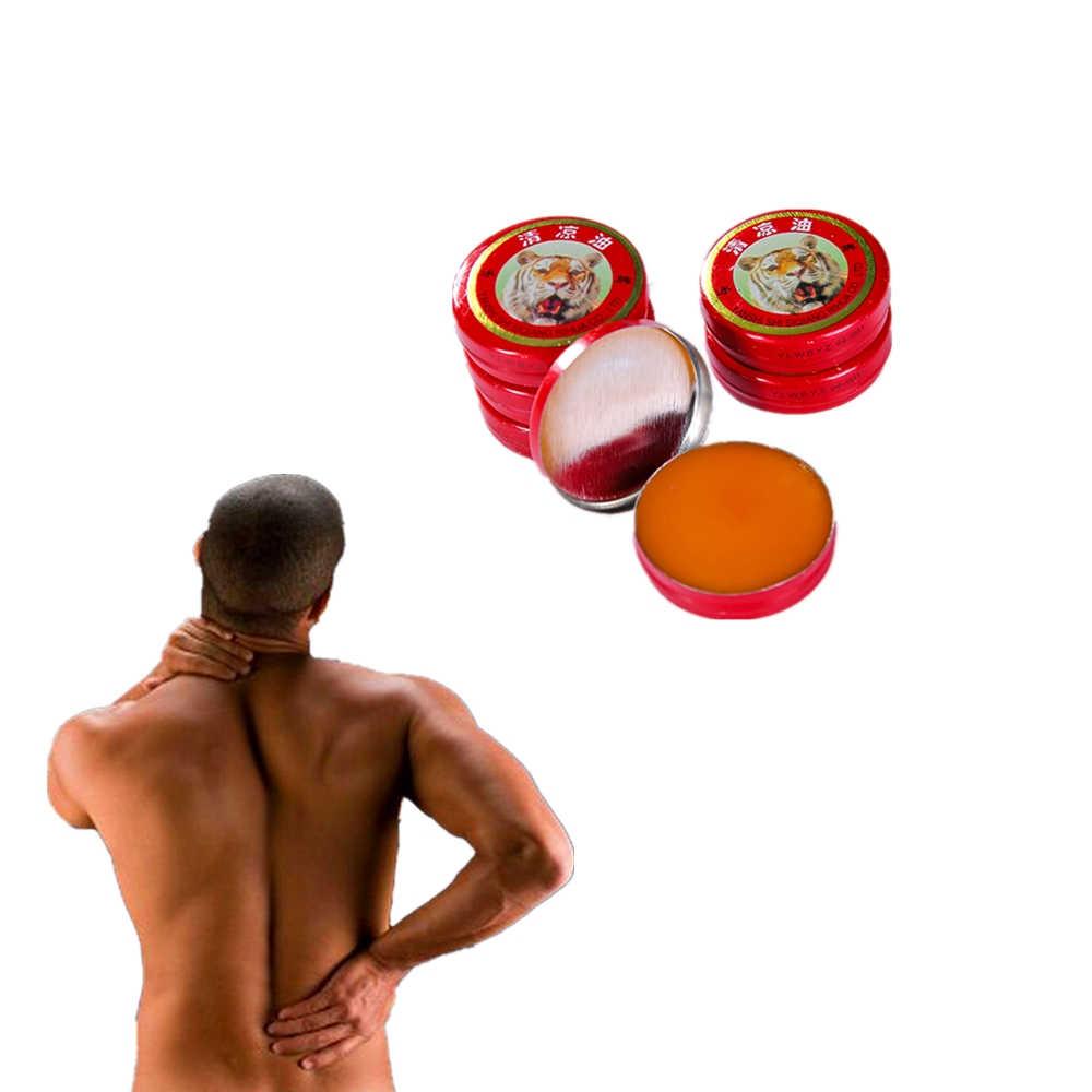 10 pcs/lot Vietnam baume du tigre pommade pour maux de tête froids maux d'estomac vertiges rouge tigre huile essentielle soulagement de la douleur crème